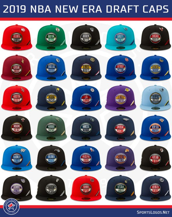 new york 70936 e1600 A look at all thirty 2019 New Era NBA Draft caps