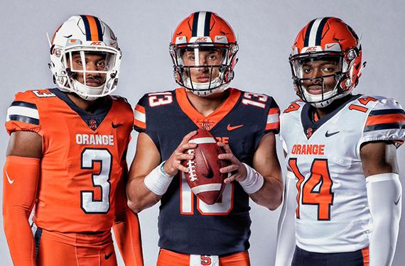 Syracuse Orange Unveil New Football Uniforms