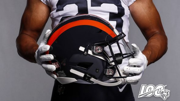 factory authentic c5554 f609c Chicago Bears Throw Back to 1936 for New Uniform | Chris ...