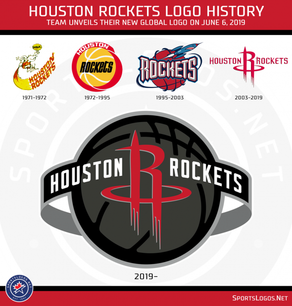 Houston Rockets Unveil New Logo, New Uniforms Still To