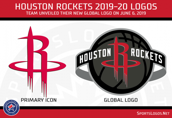 timeless design 1dd38 89e49 Houston Rockets Unveil New Logo, New Uniforms Still to Come ...