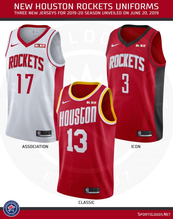 New Nhl Jerseys 2020 Houston Rockets Unveil New Uniforms, Bring Back Classic Look for