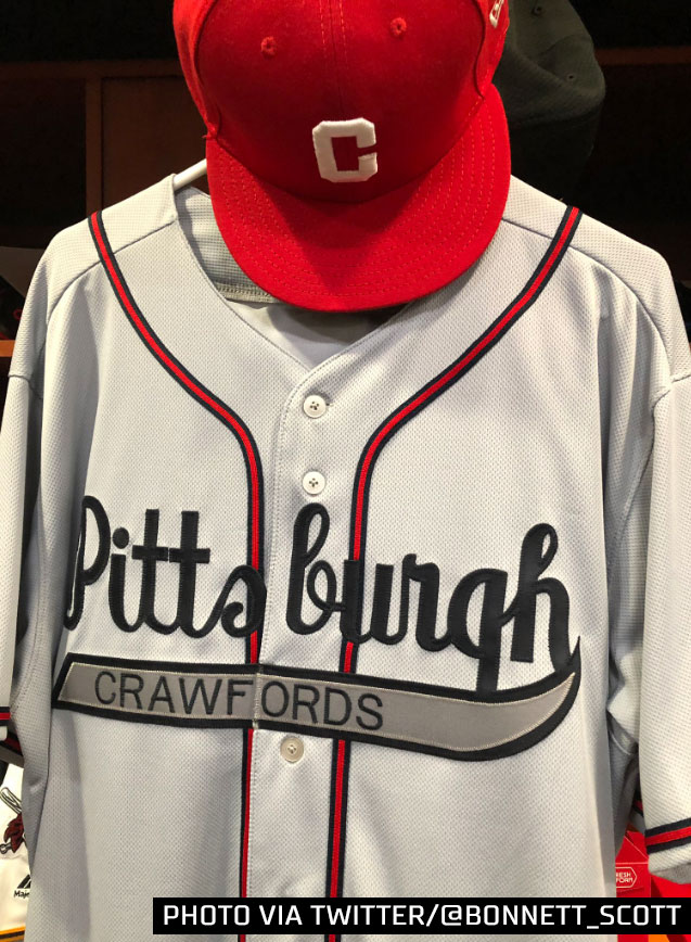 Negro Leagues Throwback Uniforms in Pittsburgh Today