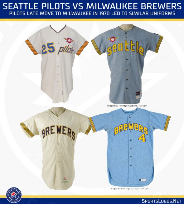 size 40 4a20c 5bcf4 Mariners to Wear Seattle Pilots Throwback Uniforms | Chris ...