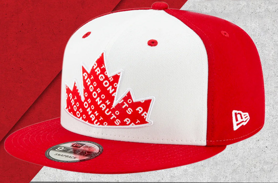 All CFL Teams Wearing Canada Day Sideline Caps This Weekend