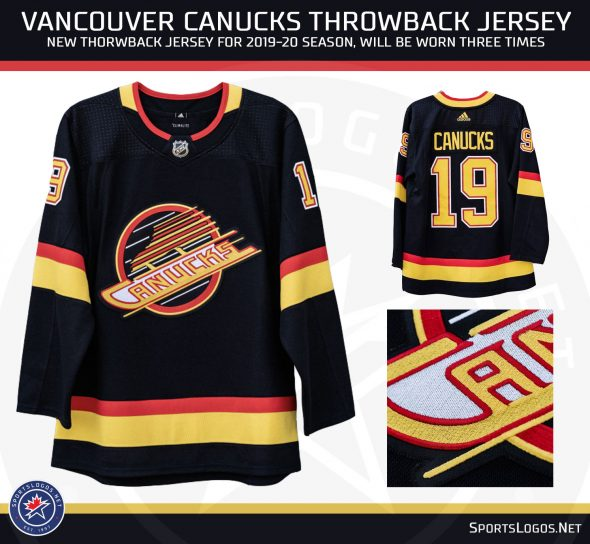 brand new 78de3 7ba66 Vancouver Canucks Unveil Four New Uniforms | Chris Creamer's ...
