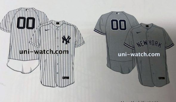 new styles 2d8e3 d5394 Leaked Graphics Show Nike Swoosh on Yankees Jerseys | Chris ...