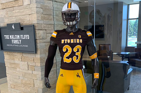 best sneakers 1e6fa 65ac4 Wyoming Cowboys Unveil New Football Uniforms | Chris ...