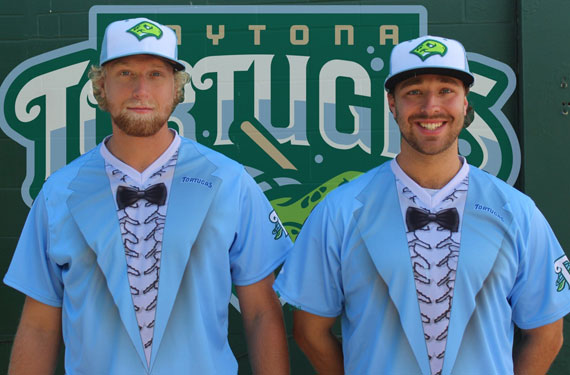 Daytona Tortugas to wear Dumb Tuxedos | Chris Creamer's