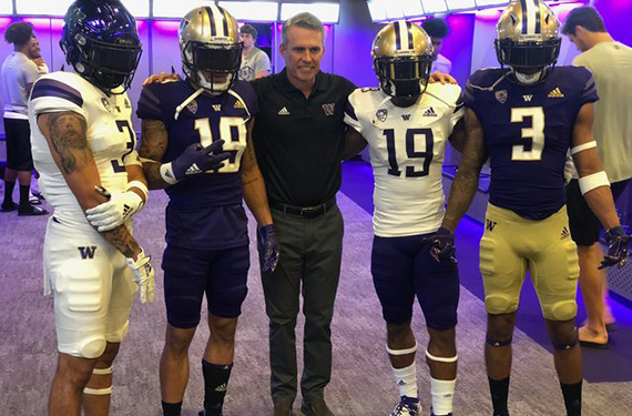 low priced 632bf 84373 Washington Huskies New Adidas Football Uniforms Leak | Chris ...