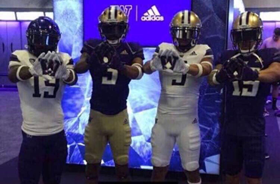 Washington Huskies New Adidas Football Uniforms Leak | Chris