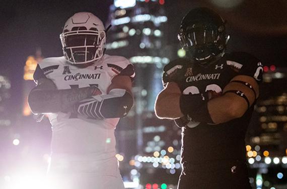 Cincinnati Bearcats Reveal New Under Armour Football Uniforms