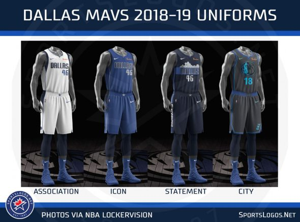 sports shoes 87cdc e806d Leak: New Dallas Mavericks Uniform for 2020 | Chris ...