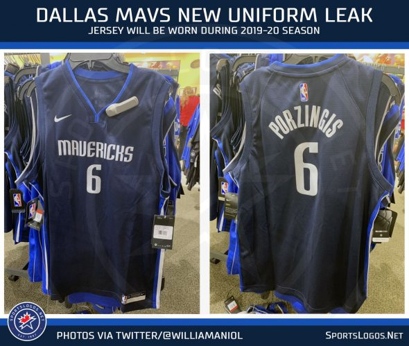 sports shoes 3088d 61c9f Leak: New Dallas Mavericks Uniform for 2020 | Chris ...