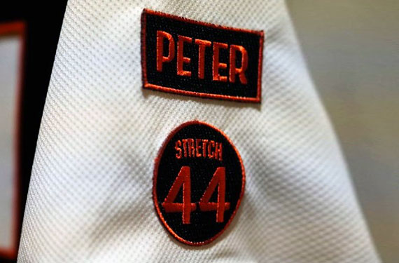 San Francisco Giants Peter and Stretch Patches Explained