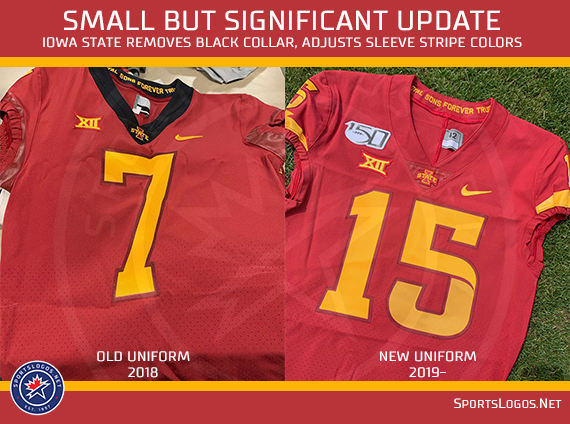 detailed look deb5d 9eea6 Iowa State Cyclones Tweak Home Football Jersey | Chris ...