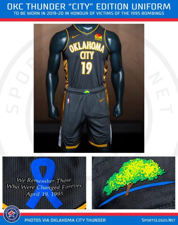 innovative design c3717 d924a OKC Thunder Unveil Four New Uniforms for 2020 | Chris ...