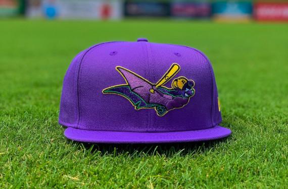 Louisville Bats throw back to purple RiverBats days