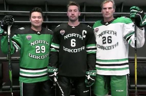 North Dakota Fighting Hawks Unveil New Hockey Jerseys