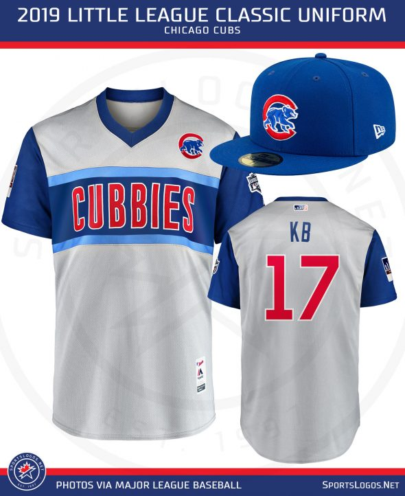 new arrival 00378 6c3d2 Cubs, Pirates Reveal Their 2019 Little League Classic ...