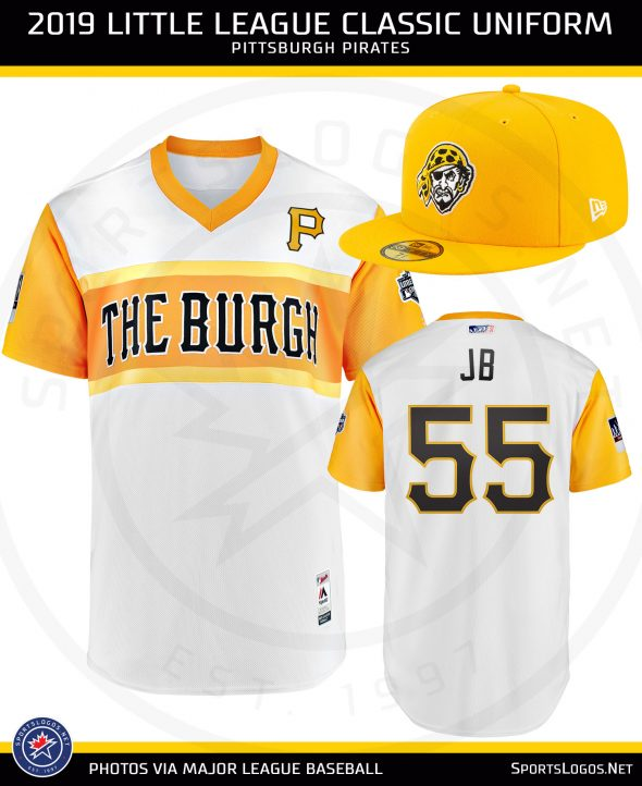 new arrival aab2c 2bdb7 Cubs, Pirates Reveal Their 2019 Little League Classic ...
