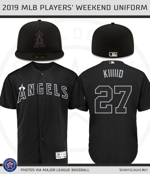 the latest 191cc f3471 Black and White Uniforms Across MLB For Players' Weekend ...