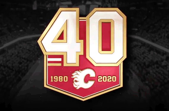 Flames Celebrate 40 Years in Calgary With New Logo