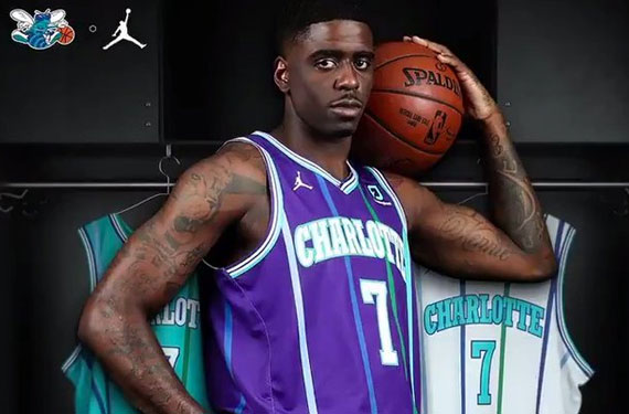 charlotte hornets throwback jersey