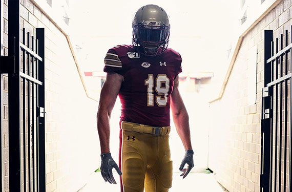 Boston College Eagles Announce Return Of 1984 Throwback Uniforms