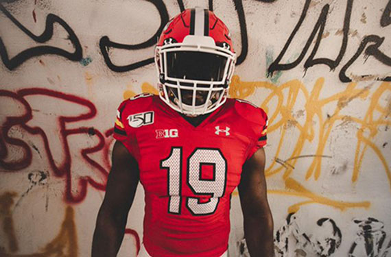 cheaper 46cb5 b27f4 Maryland Terrapins Unveil Throwback Football Uniforms For ...