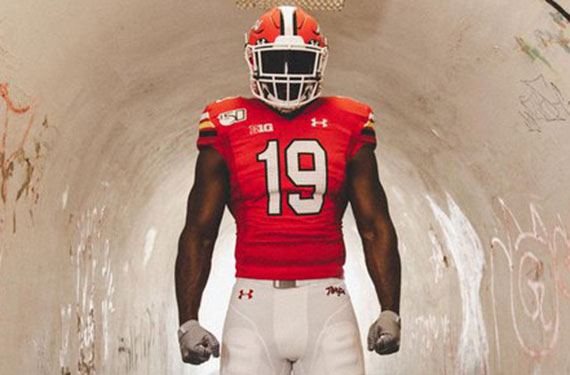 Maryland Terrapins Unveil Throwback Football Uniforms For