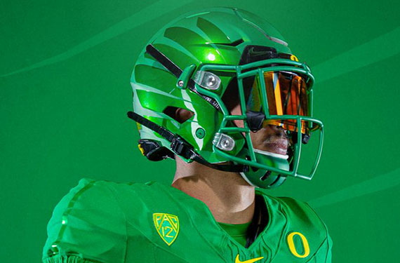 Oregon Ducks Unveil New Uniforms, Nike Vapor Fusion Template