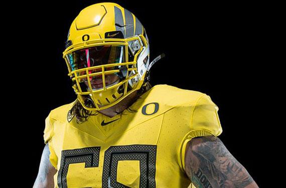 best service a1939 f516e Oregon Ducks Unveil New Uniforms, Nike Vapor Fusion Template ...