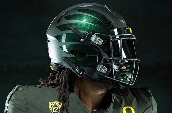 best service 5b5c5 be420 Oregon Ducks Unveil New Uniforms, Nike Vapor Fusion Template ...