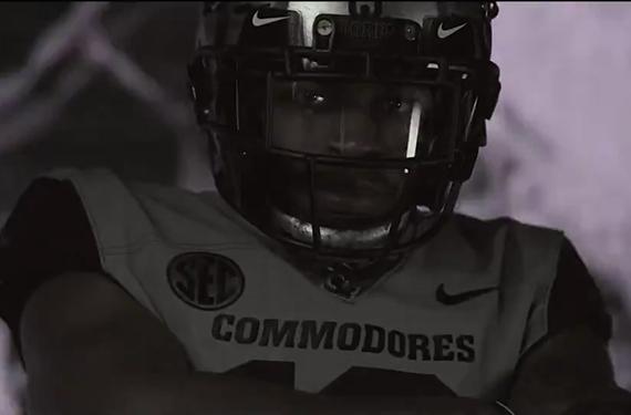 "Vanderbilt Commodores Unveil ""Battle Ready"" Alternate Football Uniforms"