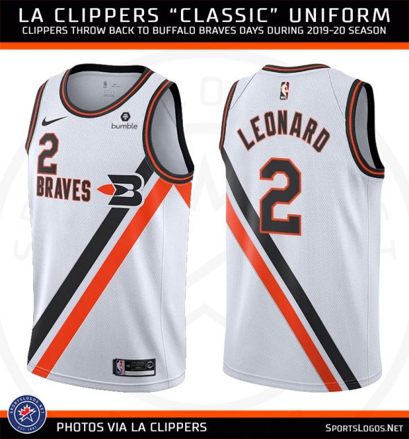 check out e8970 0b688 LA Clippers Feeling Brave With New Uniform | Chris Creamer's ...