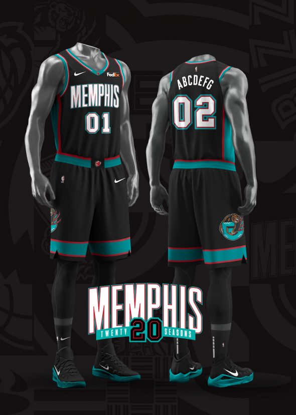 Grizzlies Throw Back To Vancouver Early Memphis Years With