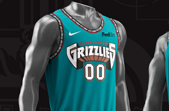 buy online 686bd d5b7d Grizzlies Throw Back to Vancouver, Early Memphis Years with ...