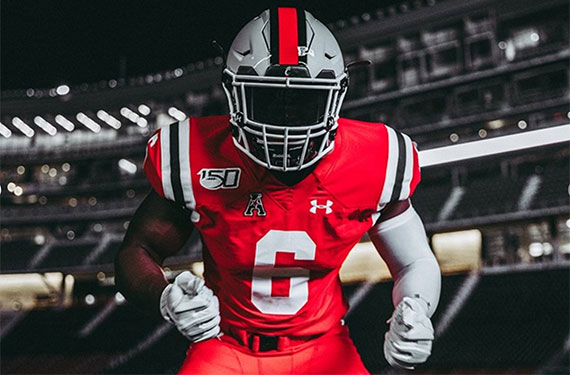Cincinnati Bearcats Unveil  1950/60s Throwback Uniform