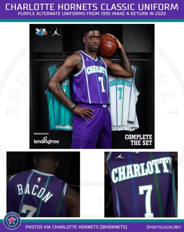 separation shoes e68d1 bee49 Charlotte Hornets Announce Return of Purple Throwback ...