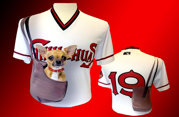 Chihuahuas unveil Bark in the Park promo jerseys