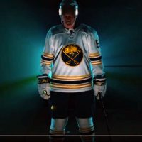 huge selection of b58c0 452ec Buffalo Sabres Unveil Golden Jersey, Announce Return of Old ...