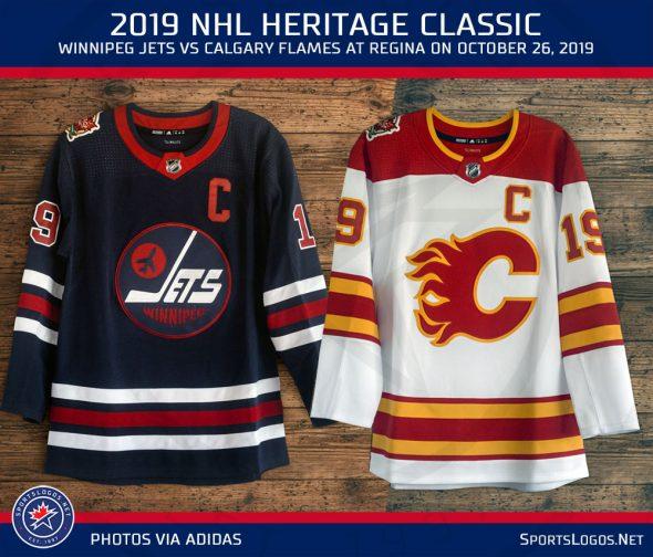 size 40 ea8b6 f6c76 Calgary Flames Reveal 2019 Heritage Classic Uniform | Chris ...