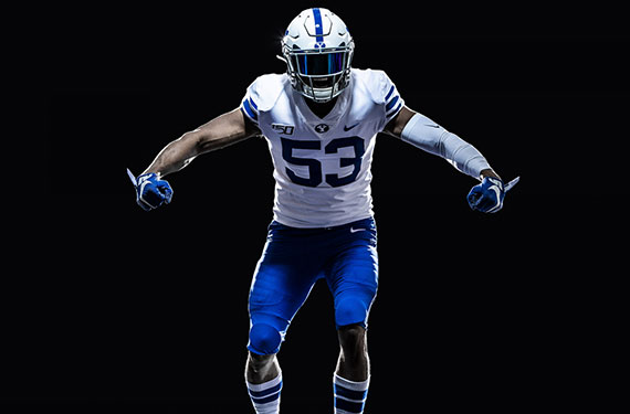 Retro-Inspired BYU Alternate Unveil Cougars  Uniforms