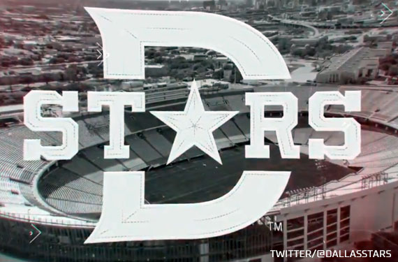 Dallas Stars Show Logo for 2020 Winter Classic