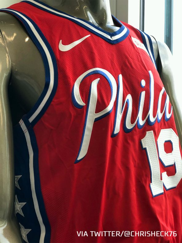 Sixers Getting New Red Uniform In 2020 Sportslogos Net News