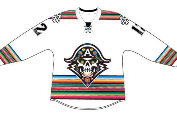 Milwaukee Admirals to wear sugar skull jerseys