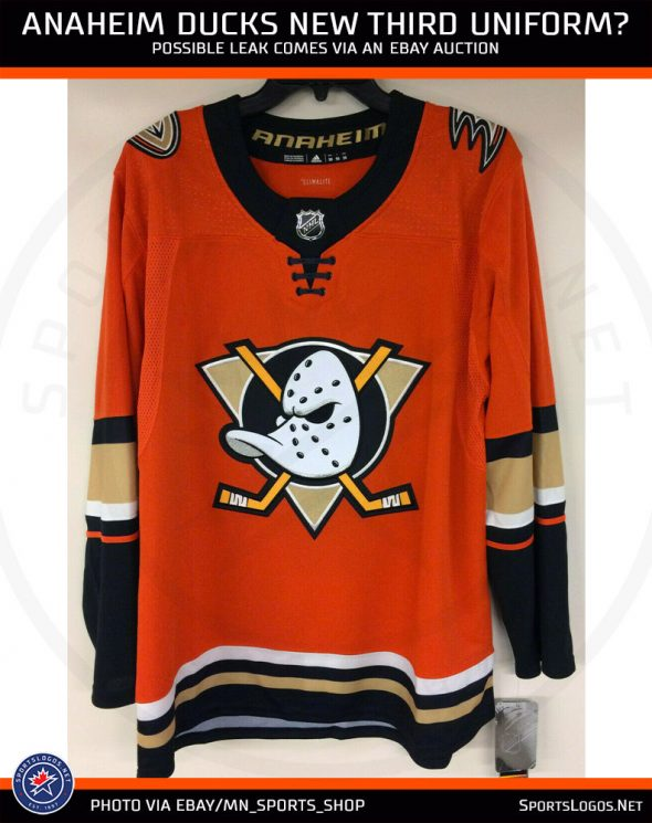 reputable site c4b0f da7d2 Leak: Anaheim Ducks New, Orange Third Jersey | Chris ...