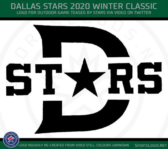 Dallas Stars Show Logo For 2020 Winter Classic