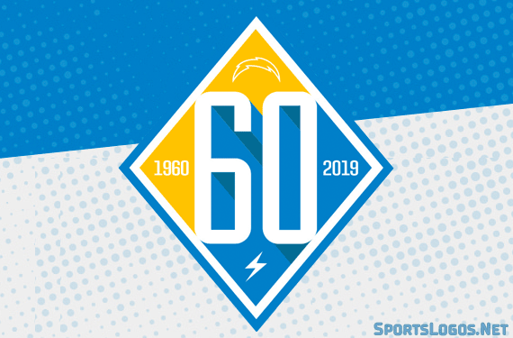Chargers Celebrate 60 Years of Football With New Logo